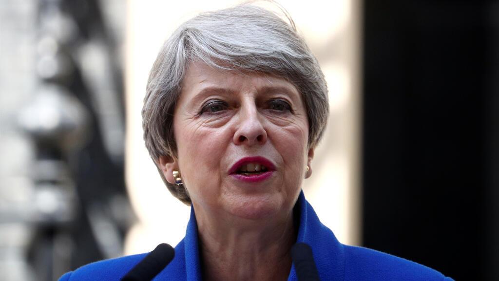 رئيسة الوزراء البريطانية المنتهية ولايتها تيريزا ماي-