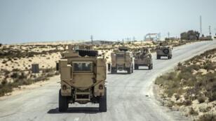 صورة للجيش المصري شمال سيناء