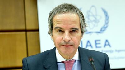 رافايل غروسي مدير عام الوكالة الدولية للطاقة الذرية