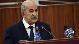 رئيس الوزراء الجزائري عبد المجيد تبون