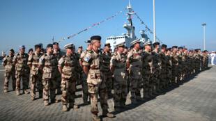 قوات فرنسية في أبو ظبي