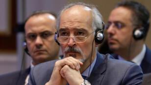 سفير سوريا لدى الامم المتحدة بشار الجعفري-