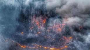 الحرائق في سيبيريا