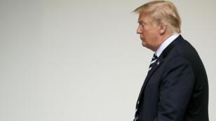الرئيس الأمريكي دونالد ترامب مع المستشارة الألمانية أنغيلا ميركل