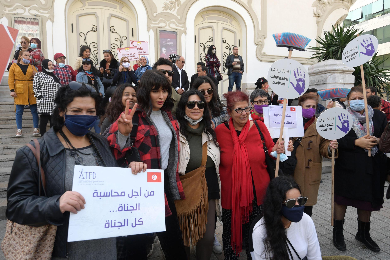 مظاهرة في تونس