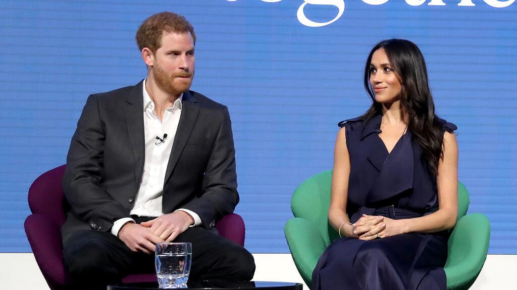 الأمير هاري وزوجته ميغن ماركل في 28 فبراير 2018