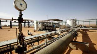 منشأة نفط في ليبيا