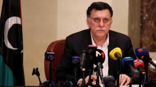 فائز السراج رئيس الحكومة الليبية