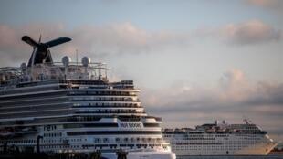 سفن سياحية راسية في ميناء لونج بيتش في كاليفورنيا    بسبب وباء فيروس كورونا