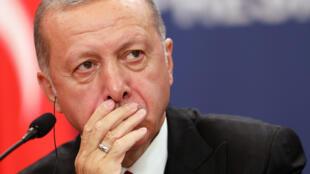 الرئيس التركي طيب رجب اردوغان-