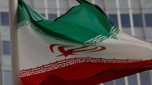علم إيراني يرفرف أمام مقر الوكالة الدولية للطاقة الذرية في فيينا