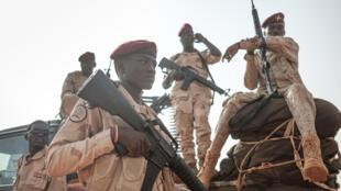 عناصر من قوات الدعم السريع السودانية