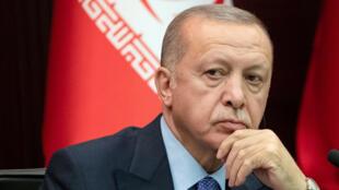 الرئيس التركي طيب رجب اردوغان