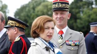وزيرة الدفاع الفرنسية فلورنس بارلي