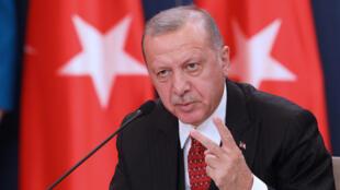 الرئيس التركي طيب رجب اردغوان-