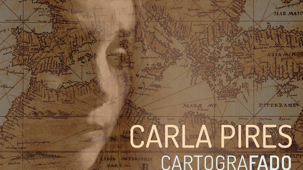 """غلاف أسطوانة """"كارتوغرافادو"""" للمغنية كارلا بيريس"""