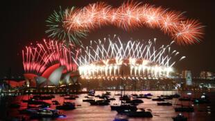 احتفالات سيدني برأس السنة 2019-2020