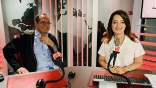 إيمان الحمود  برفقة د. آلان غريش