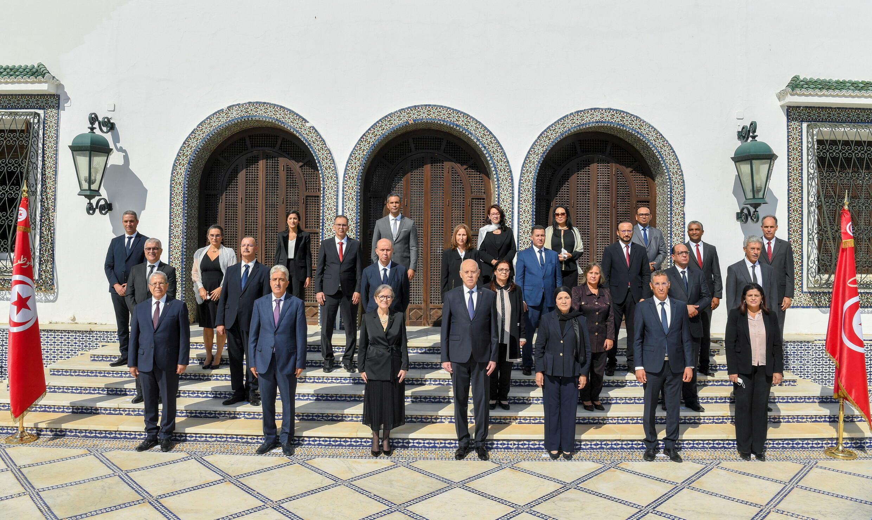 أعضاء الحكومة التونسية الجديدة