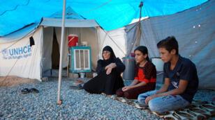نازحون عراقيون في المخيمات