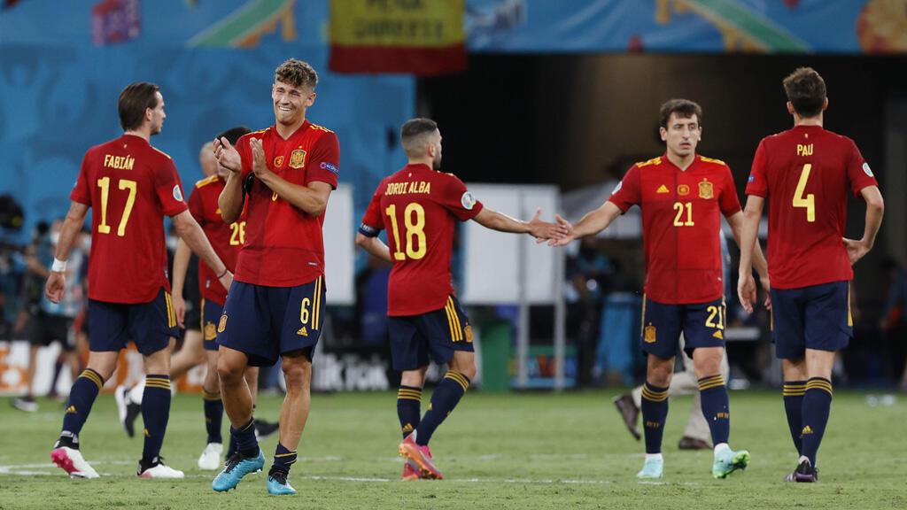 المنتخب الإسباني لكرة القدم خلال منافسات كأس أوروبا