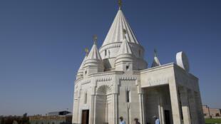 أكبر معبد للأيزيديين في العالم في أرمينيا