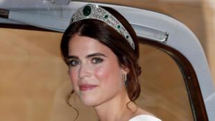 الأميرة البريطانية يوجيني حفيدة الملكة إليزابيث الثانية
