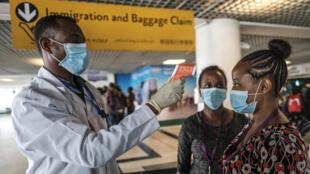 إجراءات وقائية في مطار أديس أبابا الدولي ضد فيروس كورونا