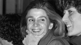 جيزيل حليمي في صورة من عام 1978