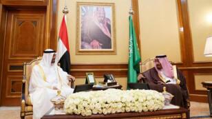 العاهل السعودي وولي عهد أبو ظبي