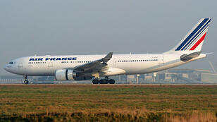 طائرة فرنسية -