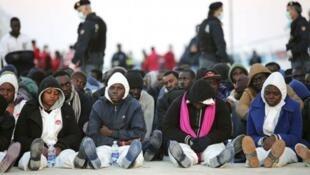 مهاجرون سريون