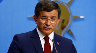 رئيس وزراء تركيا السابق أحمد داود أوغلو