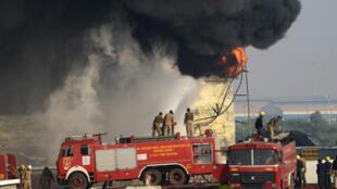 حريق في أحد مجمعات النفط التابعة للشركة في الهند