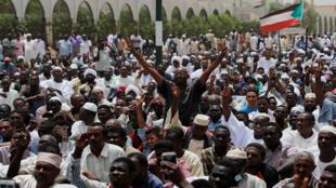 احتجاجات في الخرطوم