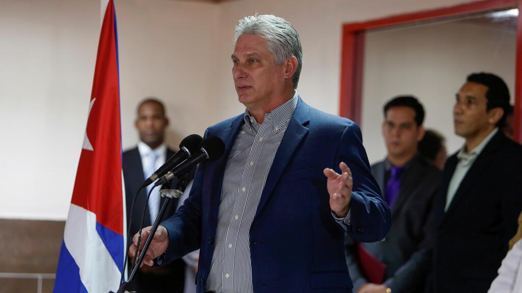 الرئيس الكوبي ميجيل دياز كانيل