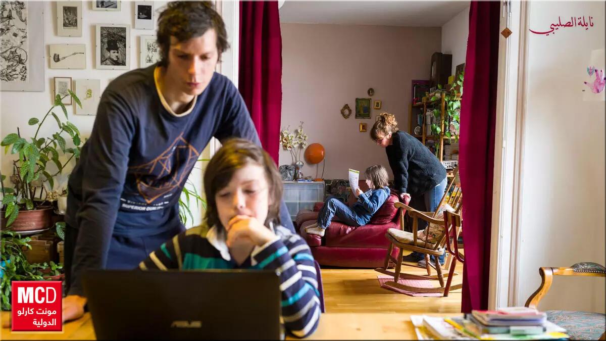 مواجهة الحجر المنزلي والقلق من وباء فيروس كورونا مع أطفالنا