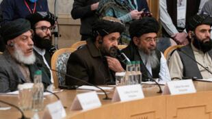 وفد طالبان في العاصمة الروسية موسكو