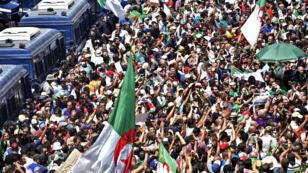 مظاهرة في الجزائر العاصمة يوم 12 يوليو 2019