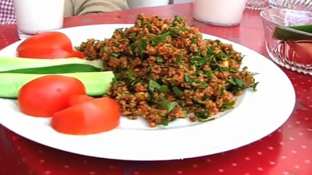 طبق الكيسير التركي