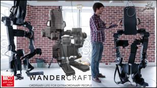 Atalante wandercraft exoskeleton