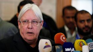 مارتن غريفيث مبعوث الأمم المتحدة الجديد إلى اليمن/ رويترز