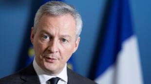 وزير الاقتصاد والمال الفرنسي برونو لومير