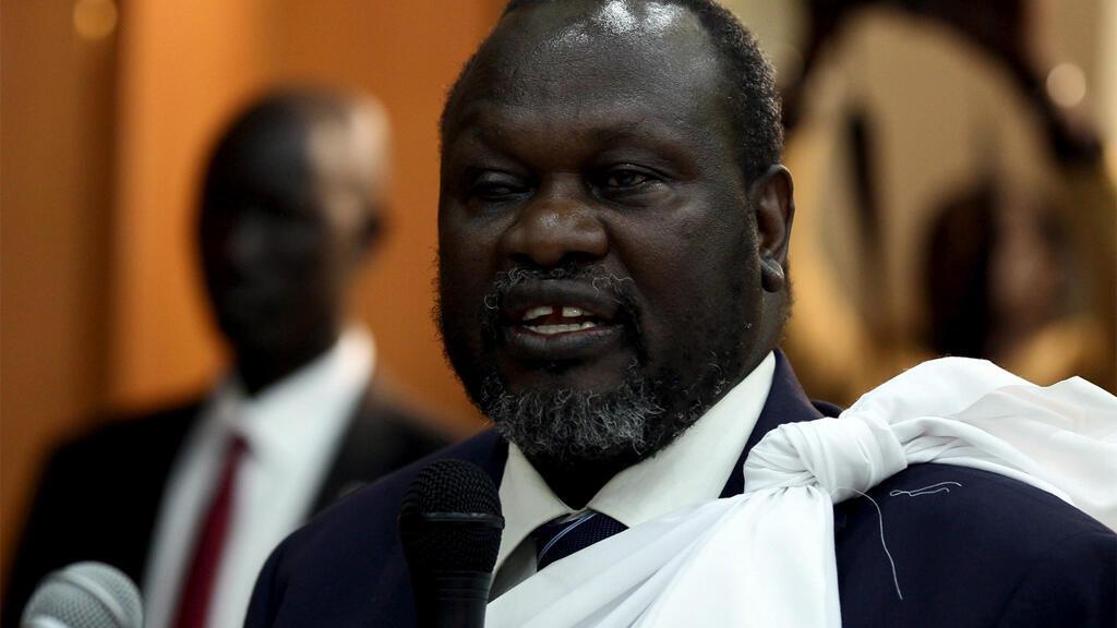 زعيم المتمردين في جنوب السودان ريك مشار