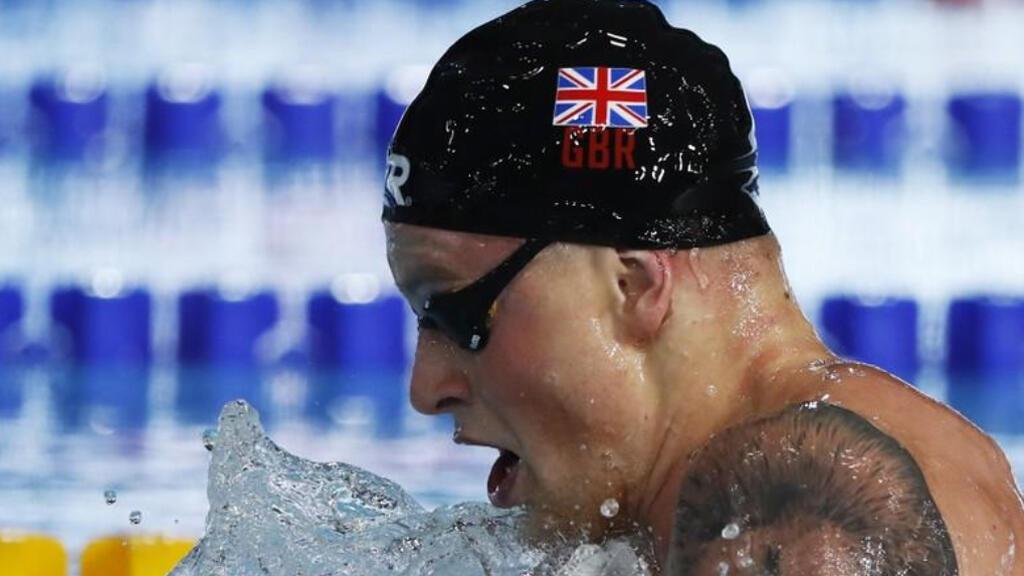 السباح البريطاني ادم بيتي