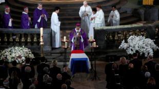 الجنازة الرسمية للرئيس الراحل جاك شيراك