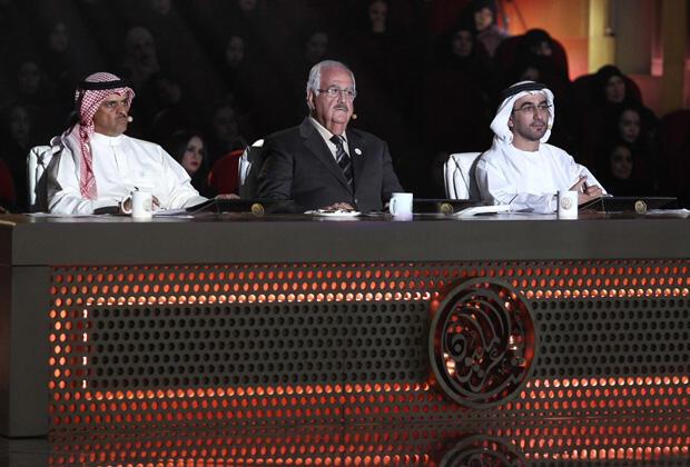 لجنة التحكيم في برنامج شاعر المليون