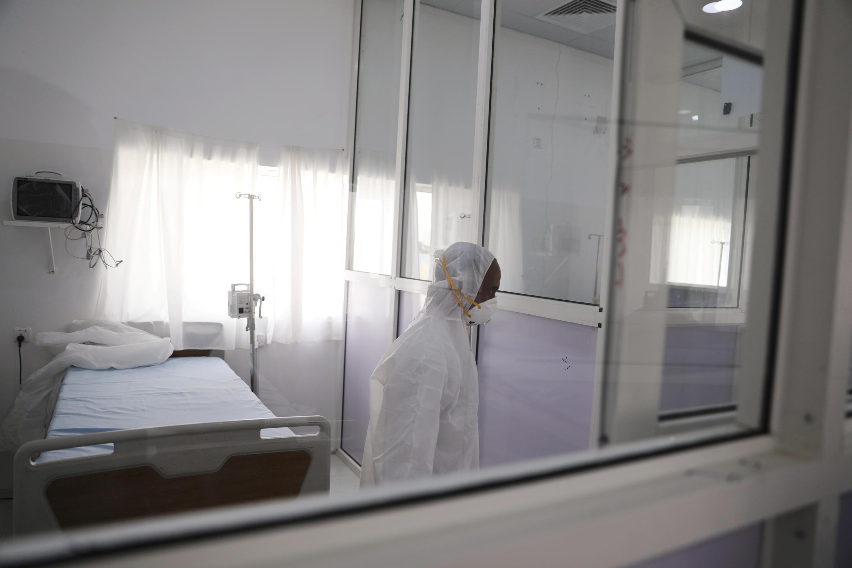 أحد غرف العزل الصحي في صنعاء