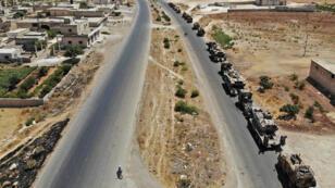 قوات تركية داخل التراب السوري في محافظة أدلب