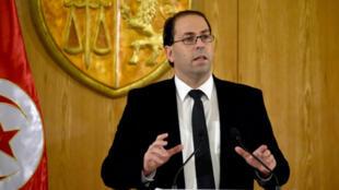 رئيس حكومة تونس يوسف الشاهد